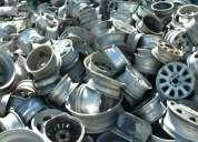 Sucata de roda de alumínio automotivo..
