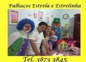 Festa infantil animada com o palhaço estrela ligue 3873 3845