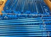 Escora metalica resistente para obra