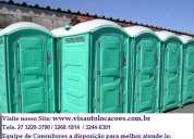 Aluguel de banheiro químico. eventos 27 3229-3790