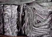 Cabos de alumínio sucata