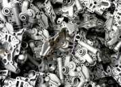 Blocos de motor em alumínio