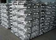 Lingotes de alumínio compra e venda