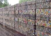 Sucata de latas de alumínio scrap ubc
