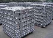 Lingotes de alumínio para indústria de fundição