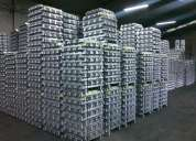 Lingotes de alumínio indústria de alumínio