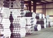 Tarugos de alumínio fundidos