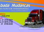 Abada mudanÇas ( transporte de mudancas para  todo o brasil )
