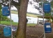 vendo tanque rede para tilápias,tela, corda, bolsão