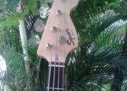 Baixo fender squier jazz bass 4 cordas