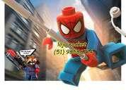 Lego homem aranha loja do lego rocket