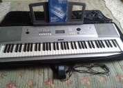 Vendo teclado yamaha dgx 220 6/8 cor prata