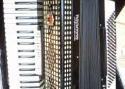 Vendo acordeon todeschini super 6 preta