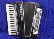Vendo acordeon 120 baixos estado de novo