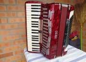 Vendo acordeon ab.orfeo,made in italy,120 baixos,quarta/oitavada
