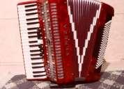 Vendo acordeon 120 super 6 veneza vermelho