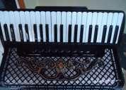 Vendo acordeon gaita scandalli 120 oitavada de fabrica