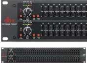 Vendo equalizador dbx 231 - usado - profissional