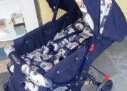 Vendo carrinho de bebe novo fanny voyage azul