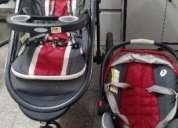 Vendo carrinho + bebe conforto gracco r 900,00