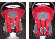 Higienização carrinhos bebe quinny / bugaboo