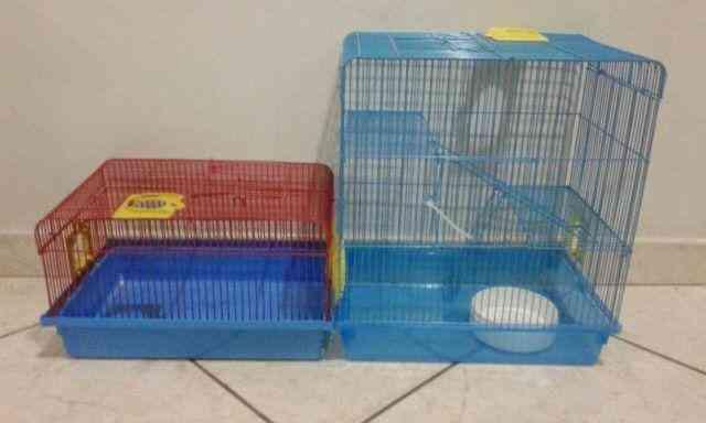 Vendo Gaiolas e acessorios para hamster