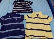 Vendo camisas tommy e ralph lauren infantis
