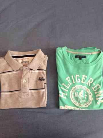 Vendo Camisas tommy hilfiger e benetton infantil