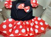 Vendo fantasia minnie com tiara