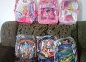 Excelente mochilas infantil diversas(ótimo preço)