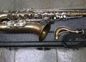 Sax tenor selmer bundy 2 usa saxofone envelhecido vendo c/ cartão cred/deb troco+