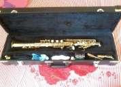 Excelente saxofone soprano eagle