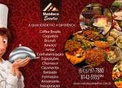 Gastronomia em casa da manduco eventos  brasília/df