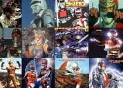 Ultraman, ultraseven, spectreman, jaspion, changeman, kamen rider , tokusatsu