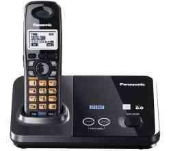 Telefone sem Fio - para 2 Linhas Panasonic - Expansível Até 6 Extensões