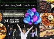 Encomendas para festa de confraternização e ceias de natal e ano novo em brasília/df