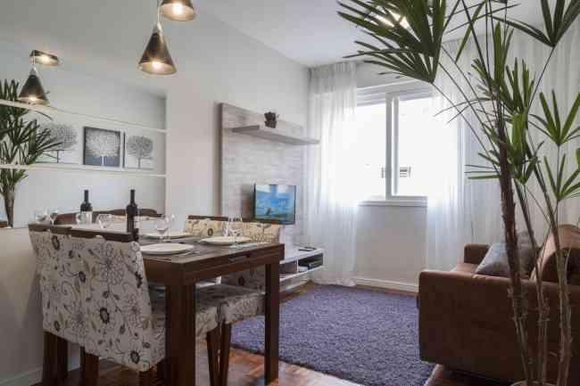 Apartamento mobiliado por temporada 1 dormitório em Porto Alegre - até 4 pessoas