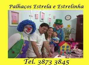 Recreador para festas infantis e eventos / palhaços magico