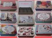 Caixas de chas esmaltes costuras art reflexus vila mariana