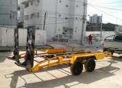 Prancha transporte de veículos