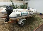 Vendo bote inflavel sr12 flexboat