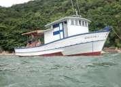 Vendo barco em otimo estado em santos