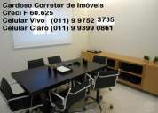 Sala comercial central office guarulhos - 42 m.2