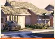 Excelente casas na planta em condomínio, 2 garagens
