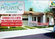 Excelente residencial atlantic - pronto para morar