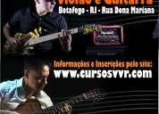 aulas de violão e guitarra - cursos vvr - rj_ botafogo