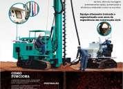 Brasil fundação hélices contínua monitorada