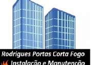 Rodrigues instalação e manutenção de porta corta fogo e barra anti pânico