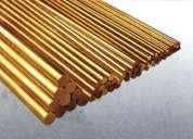 Metais cobre latão zinco alumínio