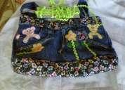 Faço bolsas de calça jeans artesanal